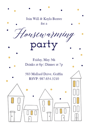 Home Base  Free Printable Housewarming Invitation Template