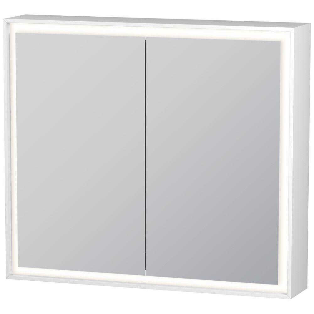 Duravit L Cube Spiegelschrank Mit Led Beleuchtung 80 X 70 Cm Lc755100000 Megabad Spiegelschrank Led Spiegelschrank Led Beleuchtung
