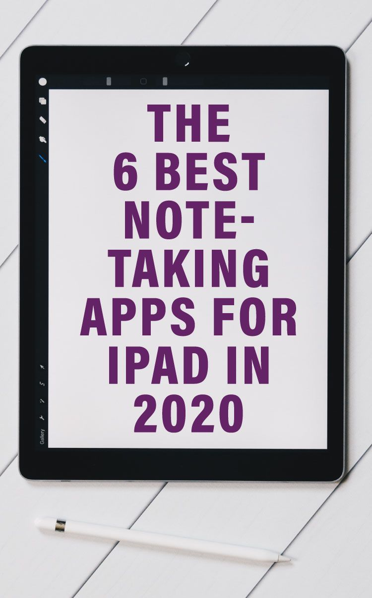 The 6 Best NoteTaking Apps for iPad in 2020 in 2020 (With
