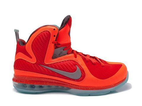 f666046532b Nike Lebron 9 Galaxy Big Bang All Star Style code 520811-800 The Nike  Lebron 9 galaxy features total orange and metallic silver colorway as the  upper design ...
