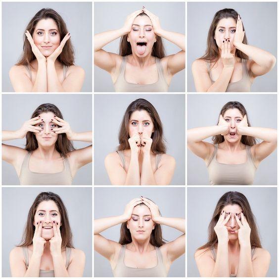Gesichtsyoga - Das natürliche Botox