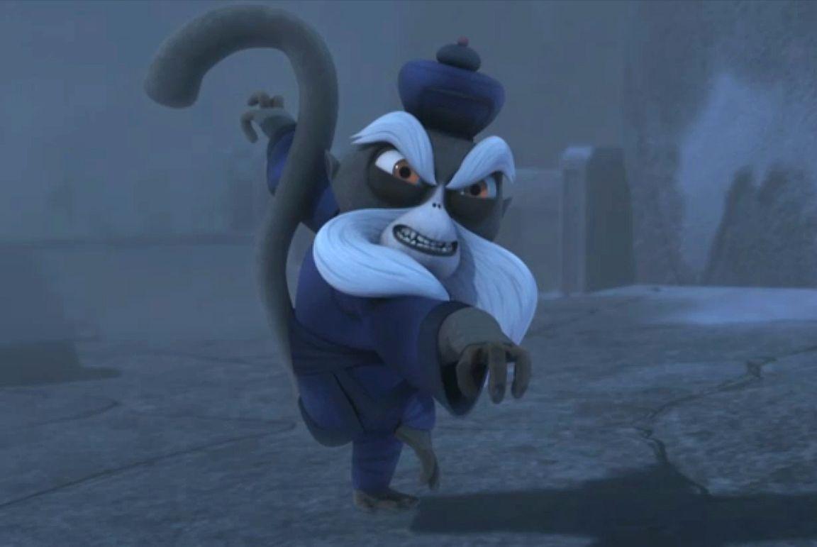 Pai mei kung fu pandaa