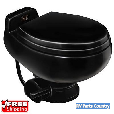 Dometic RV Toilet -Sealand Traveler 511HS-Low Profile- Black With ...