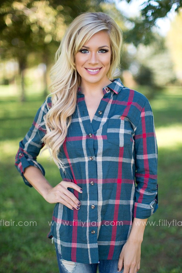 Are you mad for plaid tops?