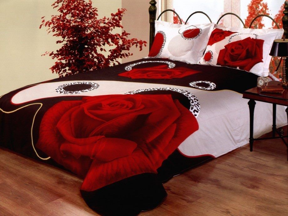 Romantic Master Bedroom Decorating Ideas Red And Black red romantic bedroom theme | my dream bedroom | pinterest