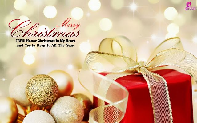 Attrayant Merry Christmas Wishes Christmas Gift Wallpaper Xmas Quote Card Picture