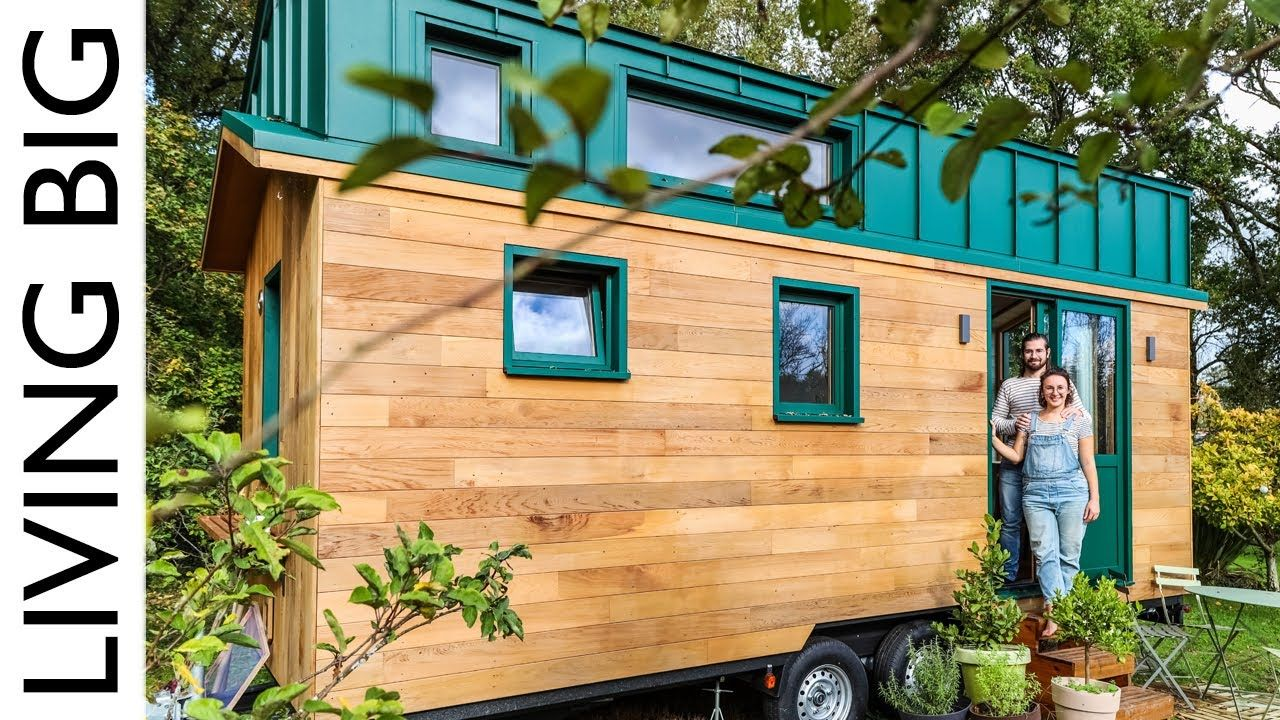 Dream Minimalist Tiny House In France Youtube In 2020 Houses