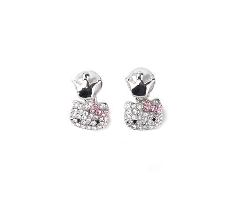 8060d9382 Hello Kitty Drop Earrings: Royal Pearl Collection   Hello Kitty ...