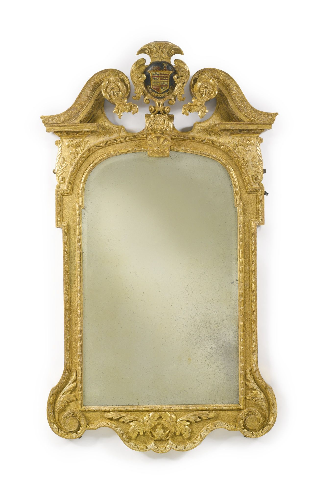 A George II giltwood and gilt-gesso pier mirror circa 1740 Sotheby's
