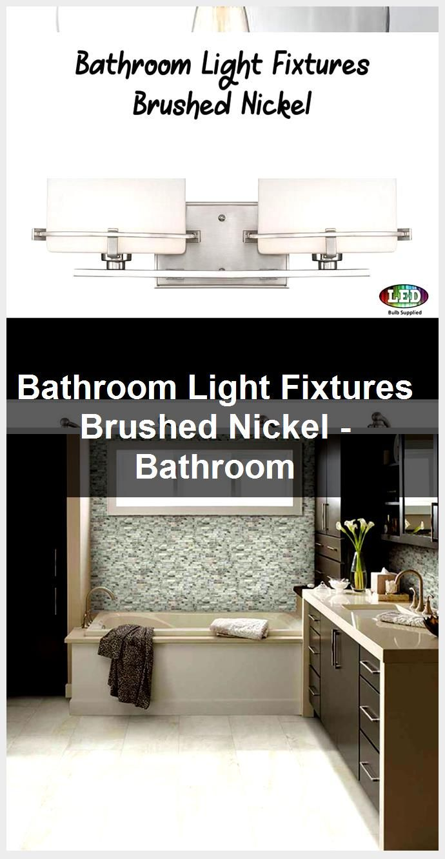 Photo of Bathroom lights brushed nickel – Bathroom, #Bathroom # Brushes # Lights #Light #Nick …