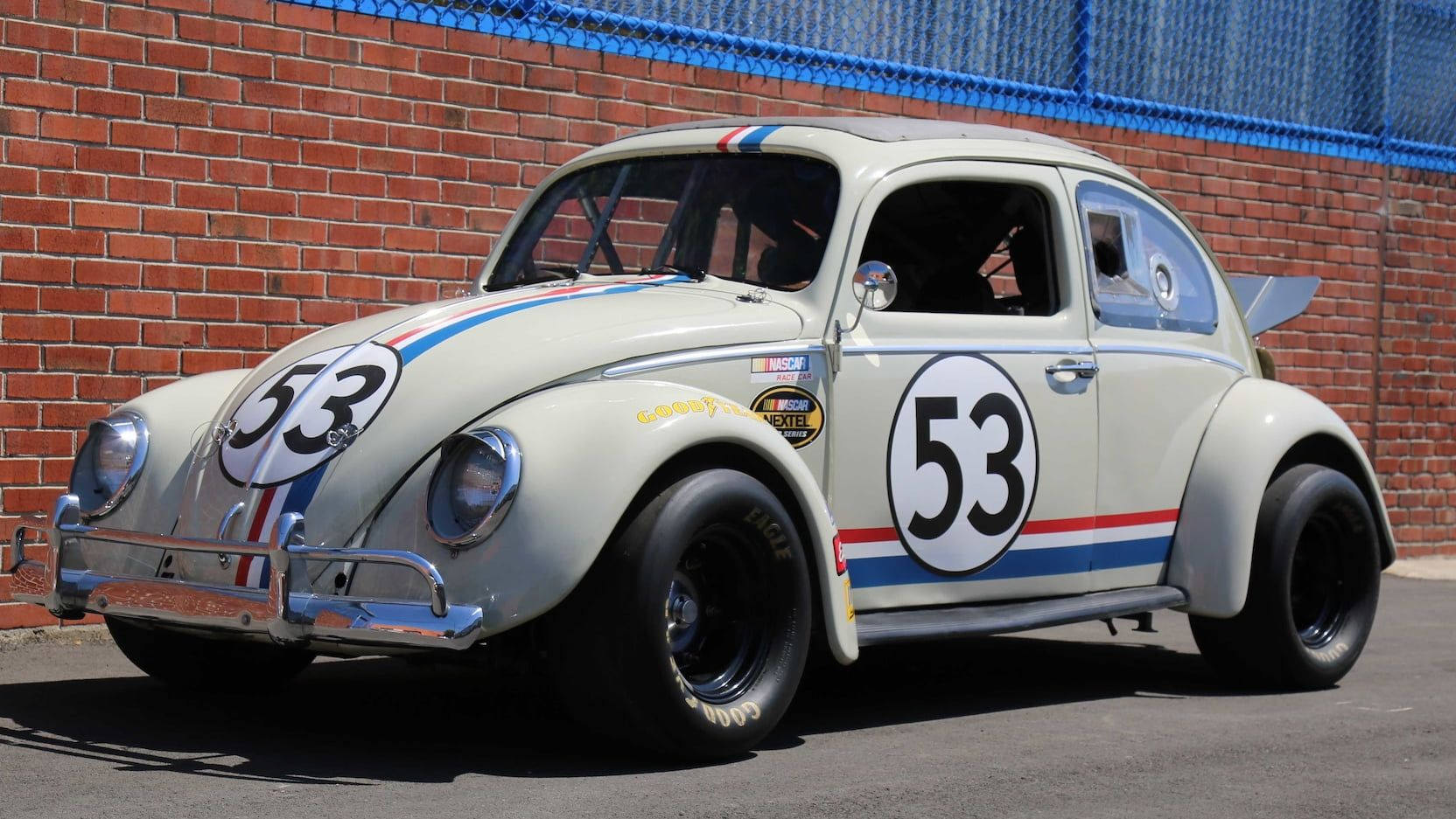 Auction Lot R225 Monterey Ca 2018 2 Of Nascar Herbies Built For The 2005 Movie Herbie Fully Loaded 2300cc Engine W Volkswagen Beetle Volkswagen Vw Cars
