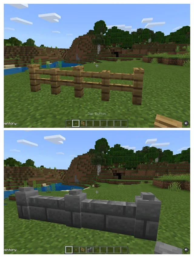 Building Pro Tip Use Buttons On Top Of Fences And Walls To Add