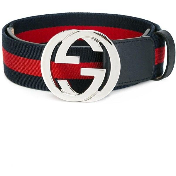8e56168b1 Gucci Logo Buckle Belts ($235) ❤ liked on Polyvore featuring men's fashion,  men's accessories, men's belts, belts, navy, mens navy belt and mens navy  blue ...