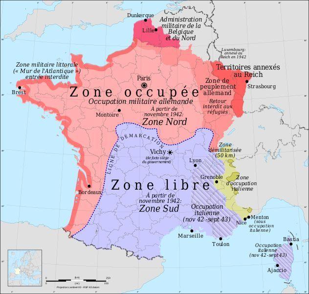 carte europe ww2