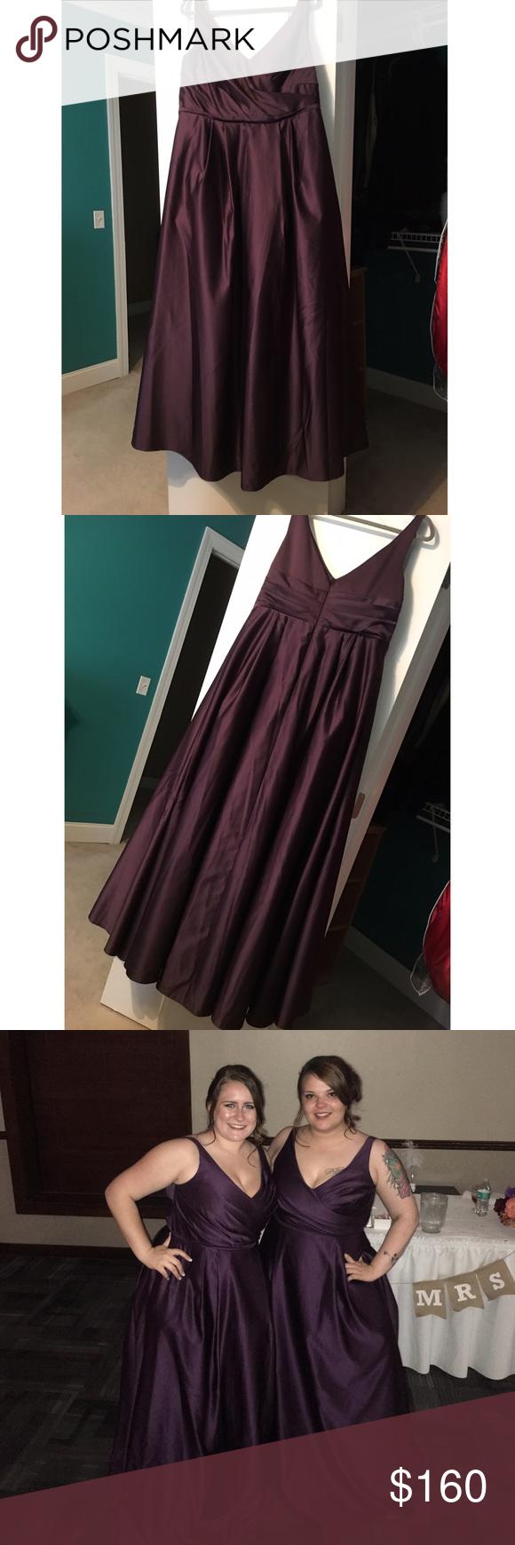 Purple formal dress not jovani bought as davids bridal for a