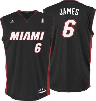 official photos 0fc7b 28973 Miami Heat adidas NBA Jersey - Black | for the hubby ...