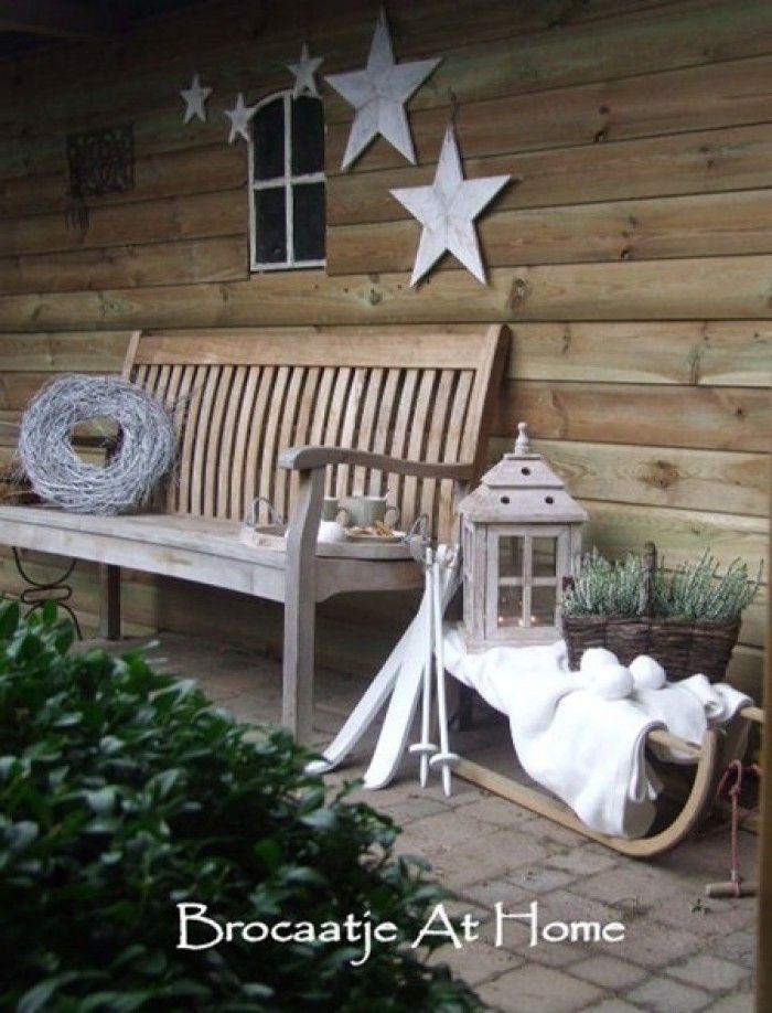 kerstdecoratie voor buiten out door living pinterest. Black Bedroom Furniture Sets. Home Design Ideas