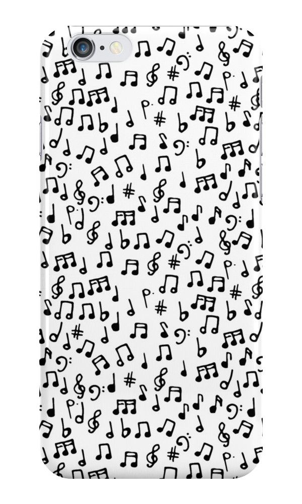 Music Notes Iphone Case Cover Notas Musicales Notas
