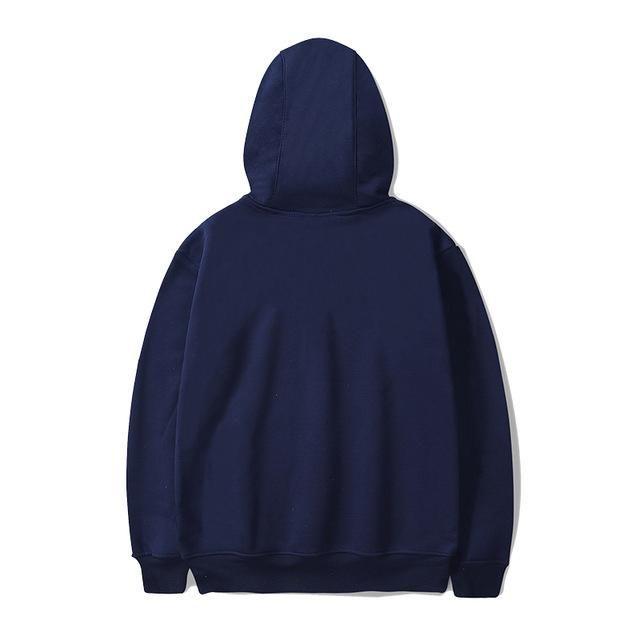 Men Women Hoodie Sweatshirt Hip Hop Street Wear Solid Color Pullover Male Warm Hoodies   - Products -