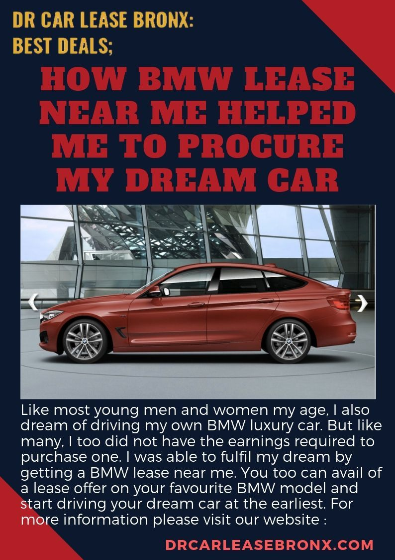 Like Most Young Men And Women My Age I Also Dream Of Driving My Own Bmw Luxury Car But Like Many I Too Did Not Have The Earnings Dream Cars My