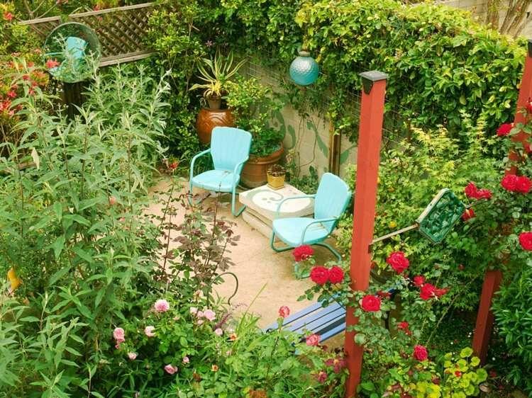 Garten Mit Terrasse Mitten Im Grunen Anlegen Garden Ideas