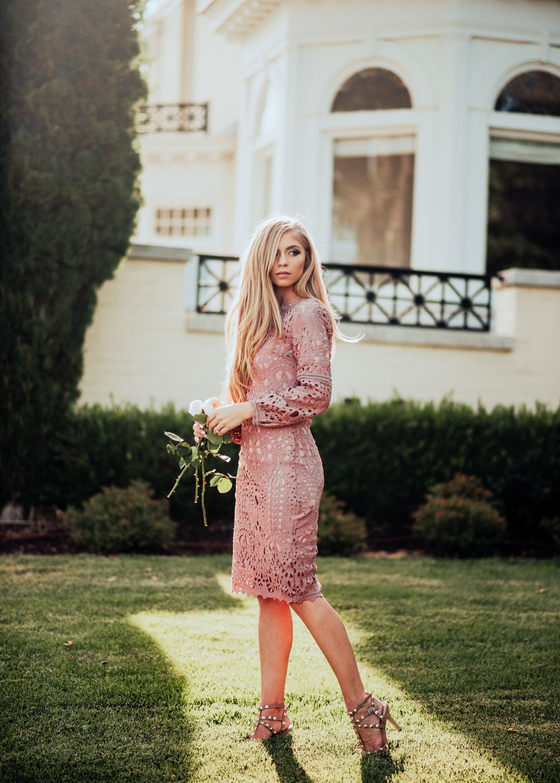 Southern style wedding dresses  Julia Lace Shift Dress in Mauve  Shopping  Pinterest  Dresses