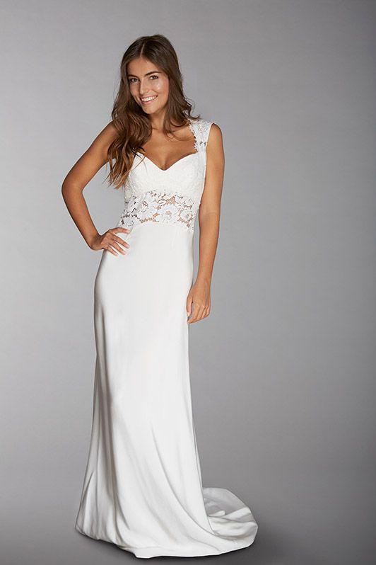 robe de mariée créateur fabienne Alagama Paris et Lyon - Collection  Chantilly 4364e91270c