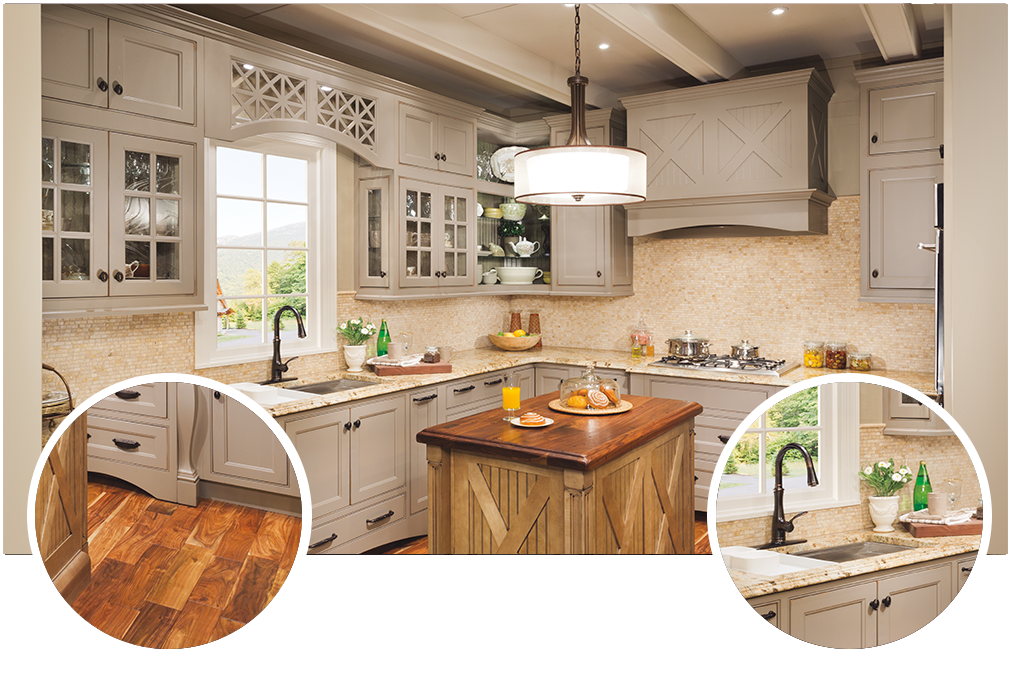 Before and After Kitchen Gallery Home depot kitchen