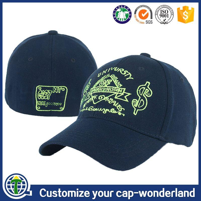 817c5658ceb 6 panel embroidered a flex caps wholesale hats flexfit baseball cap closed  back