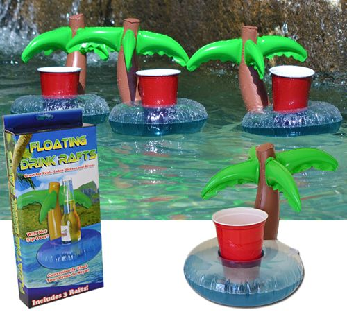 Palm Floating Drink Holder Pool Pinterest Cool Pools Swimming