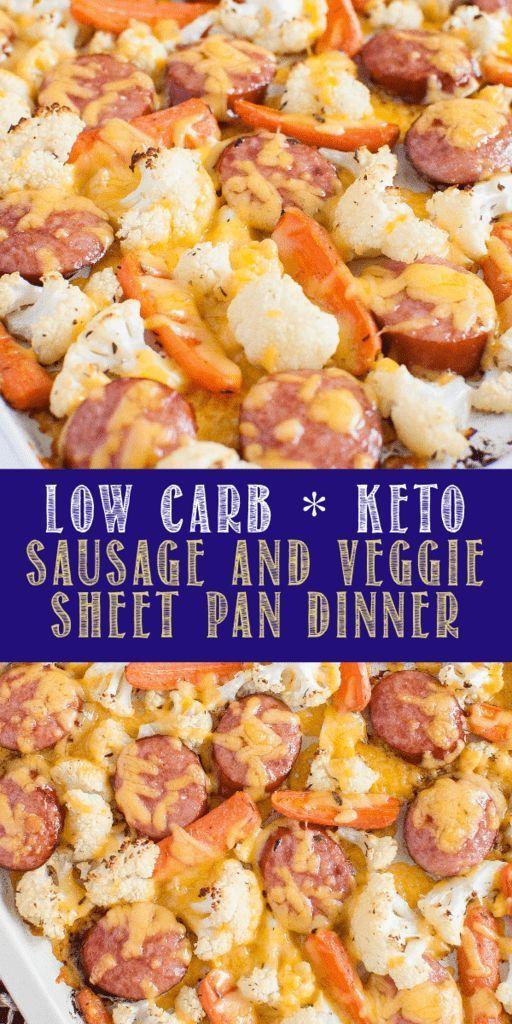 LOW CARB KETO SAUSAGE AND VEGGIE SHEET PAN DINNER | Delicious Recipe LOW CARB KETO SAUSAGE AND VEGGIE SHEET PAN DINNER | Delicious Recipe