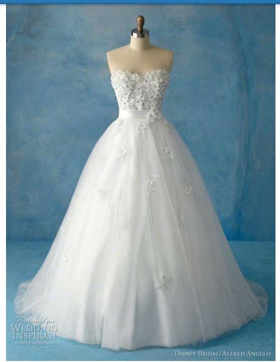 Disney Fairy Tale Weddings by Alfred Angelo | Pinterest | Disney ...
