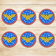 Image result for wonder woman cupcakes