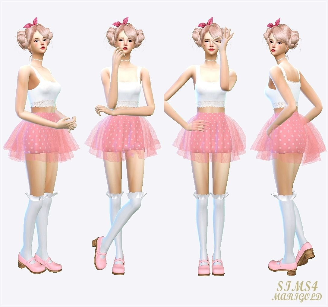 Skirts By Sims 4 Marigold Sims 4 Clothing Mini Skirts Sims 4