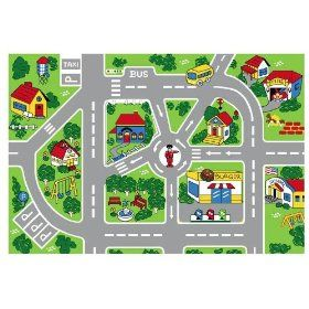 City Map Children Area Rug 39 X58 39 A Wonderful Rug For A Boys Bedroom Toys Gift Bedroomdecor Maprug Rug Rugs Cool Rugs Kid Room Decor