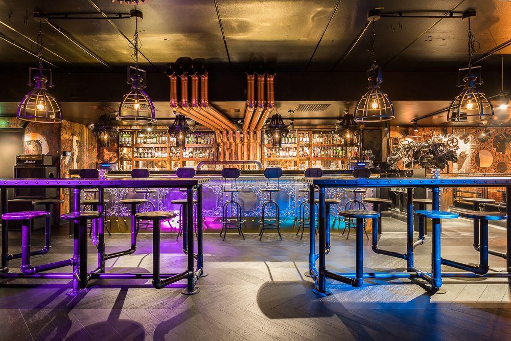 Butcher & Banker restaurant chain interior design concept ...
