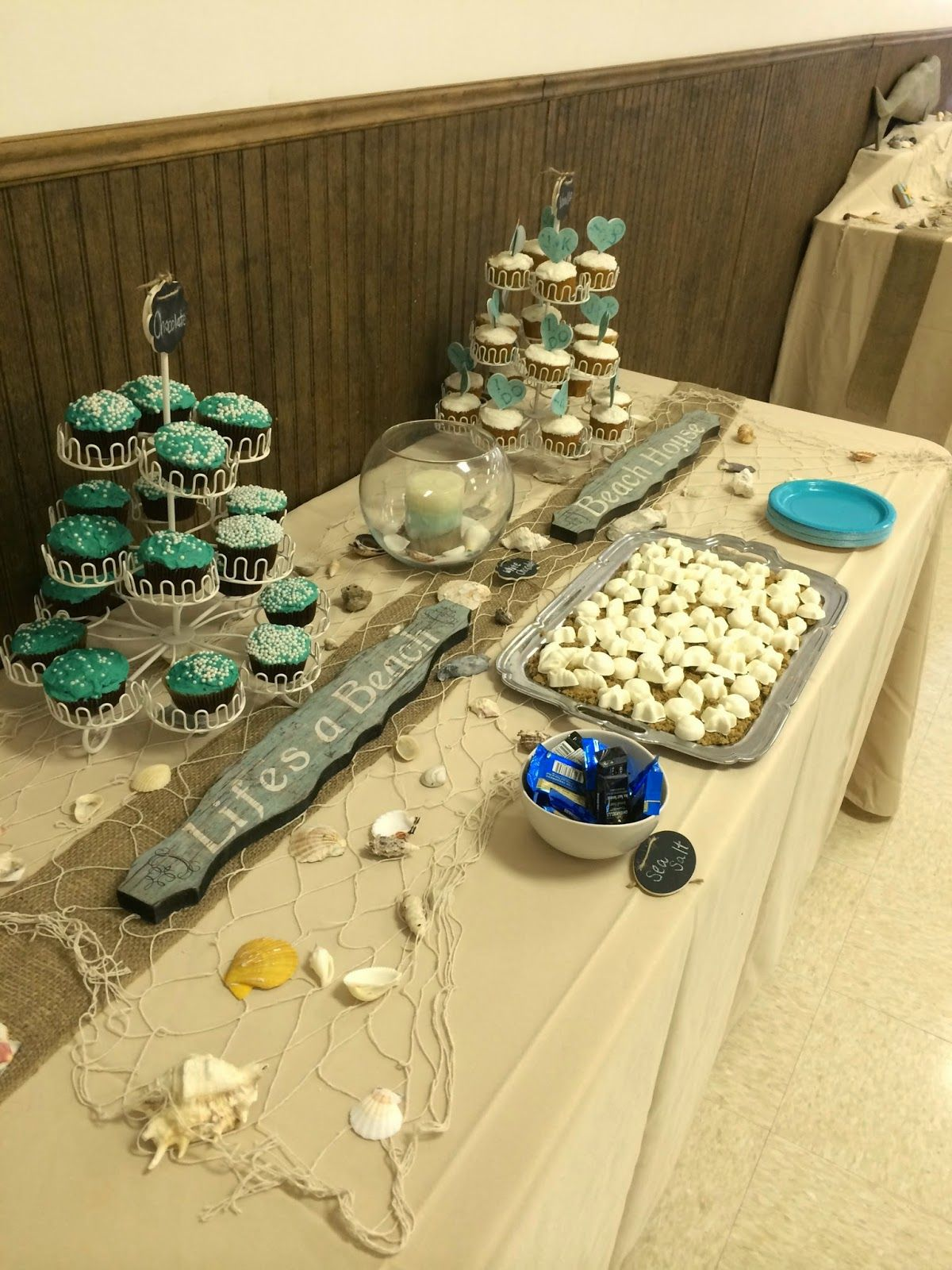 how to throw a beach themed wedding shower details on diy