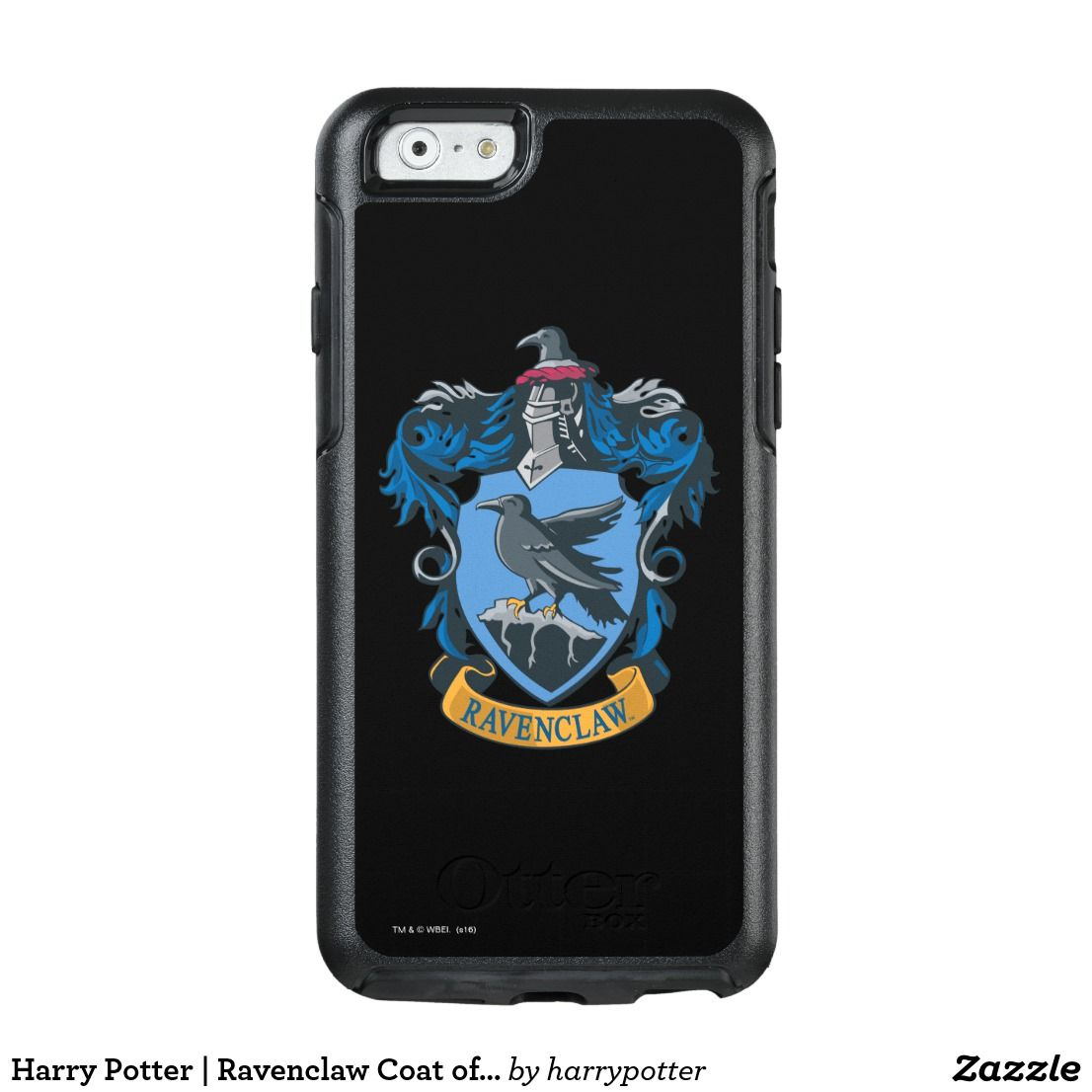 Harry potter ravenclaw coat of arms otterbox iphone case