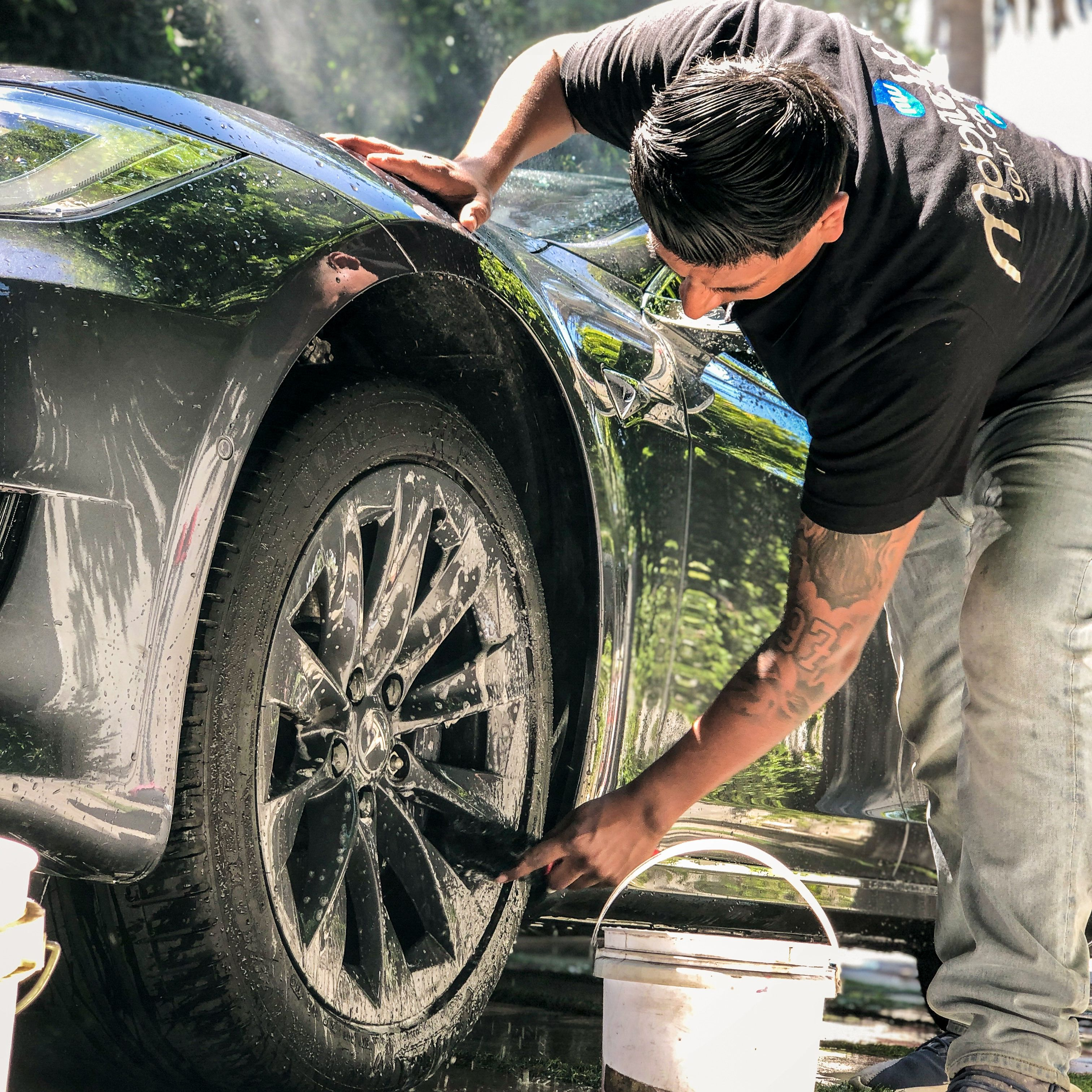 How much should I charge for car detailing Car detailing