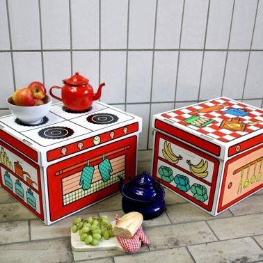 bo tes de rangement en carton visuel cuisine marque villa carton a colorier ou peindre. Black Bedroom Furniture Sets. Home Design Ideas