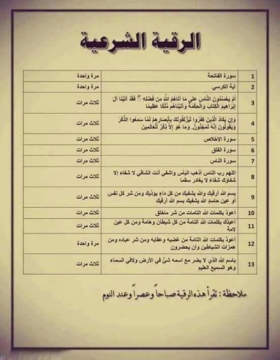 الرقيه الشرعيه Islam Beliefs Islamic Phrases Islam Facts