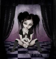 Girl With Dead Doll by THZ