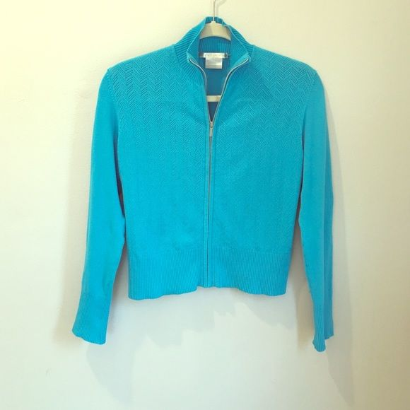 """⚡️ Nike Golf Cardigan ⚡️ *️⃣ Beautiful turquoise color*️⃣ zip close *️⃣ long sleeve *️⃣fits more like a small to medium *️⃣nike fit dry*️⃣laying flat: 19"""" long; bust: 17""""; arm length:21""""*️⃣stretching fabric*️⃣excellent condition Nike Sweaters Cardigans"""