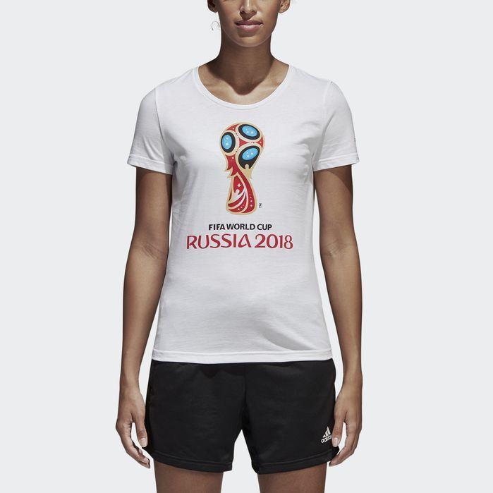22abbc82c26 adidas FIFA World Cup Emblem Tee - Womens Soccer Short Sleeve Shirts