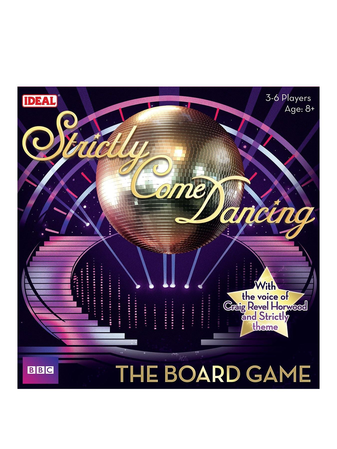 Ideal Strictly Come Dancing Board Game In One Colour Strictly Come Dancing Board Games Strictly Come