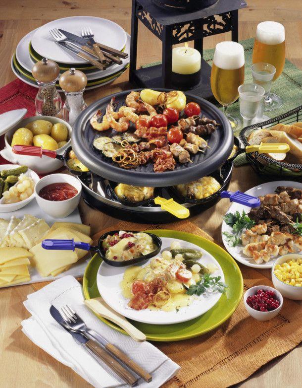 Geselliges Raclette-Essen Rezept | LECKER