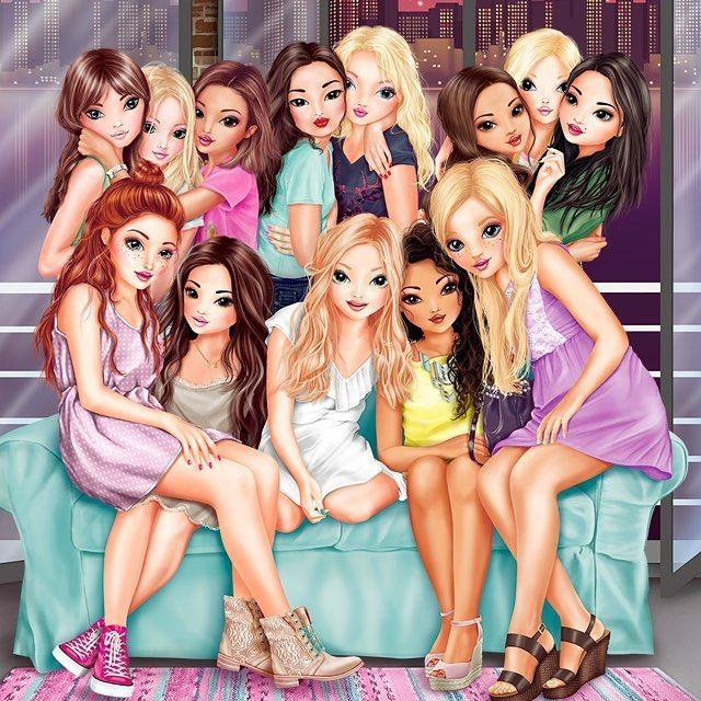 Unsere 13 Topmodels Waren Fleissig Und Haben In Den Letzten Tagen Einige Outfits In Ihren Kleiderschranken Dessin Top Model Portraits De Filles Dessin Princesse