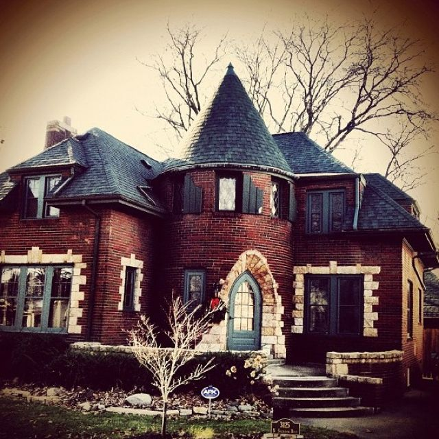 The Castle House Peoria Il I Always Thought This House Was Neat