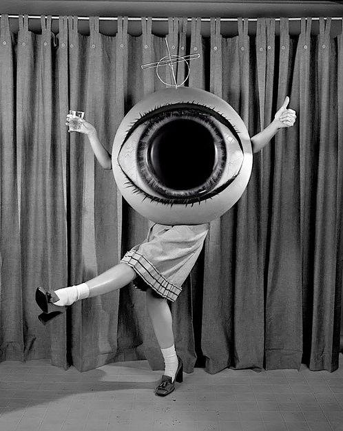 vintage eyeball halloween costume eeeh gads