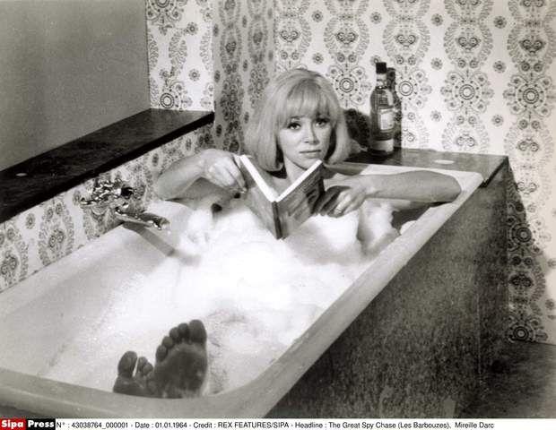 Mireille Darc les barbouzes1954 dieulois